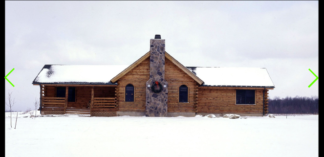 The wyoming is a ranch style log home treetop log homes for Ranch style log home designs